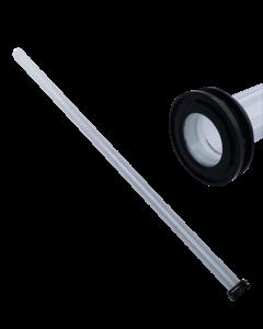 UvC Xclear Kwartsglas  Ø25mm - L=630mm (Dompel UvC 80W Amalgaam)