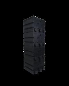 SuperShower 4-traps incl. 200 ltr. SuperBio marmer zwart
