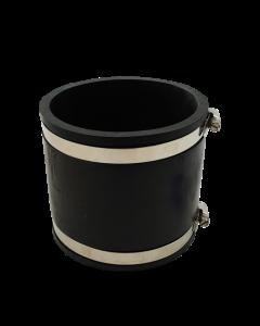 Flexibele rubber sok/mof 125mm