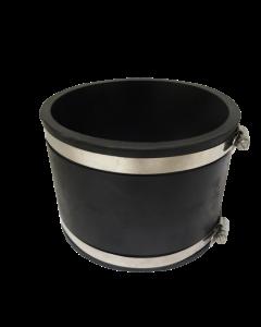 Flexibele rubber sok/mof 160mm