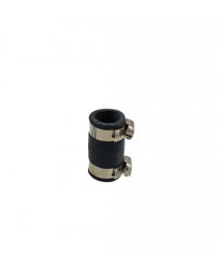 Flexibele rubber sok/mof 25mm