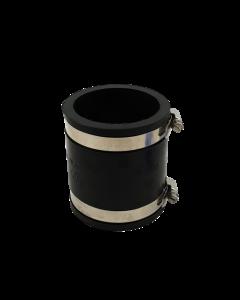 Flexibele rubber sok/mof 75mm