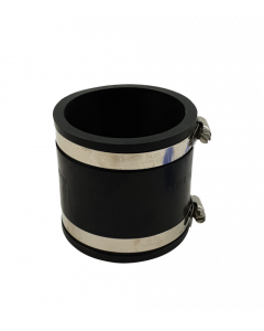Flexibele rubber sok/mof 90mm