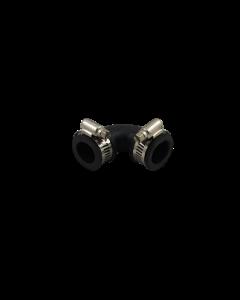 Flexibele rubber bocht (90°) 20mm
