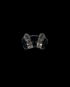 Flexibele rubber bocht (45°) 20mm