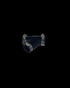 Flexibel rubber Y-stuk 32mm