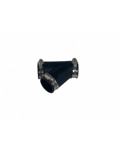 Flexibel rubber Y-stuk 40mm