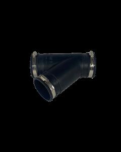 Flexibel rubber Y-stuk 63mm
