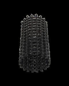 Rasterbuis Ø 110mm x Lengte 1000mm (zwart)