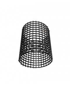 Rasterbuis Ø 160mm x Lengte 1000mm (zwart)
