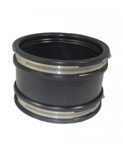Flexibele EPDM sok/mof 160mm