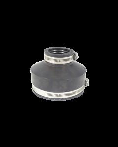 Flexibele EPDM verloopsok/mof 110x50mm