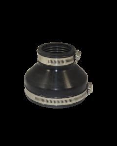 Flexibele EPDM verloopsok/mof 110x63mm