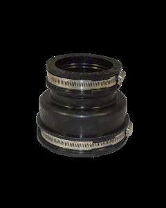 Flexibele EPDM verloopsok/mof 110x90mm