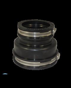 Flexibele EPDM verloopsok/mof 125x90mm