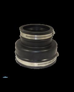 Flexibele EPDM verloopsok/mof 135x90mm