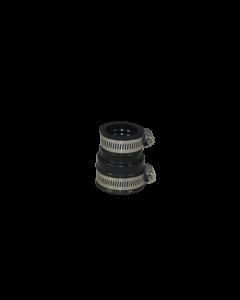 Flexibele EPDM verloopsok/mof 40x32mm