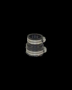 Flexibele EPDM verloopsok/mof  50x32mm