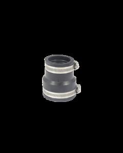 Flexibele EPDM verloopsok/mof 50x40mm