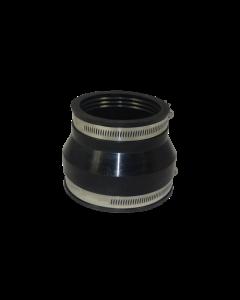 Flexibele EPDM verloopsok/mof 63x50mm