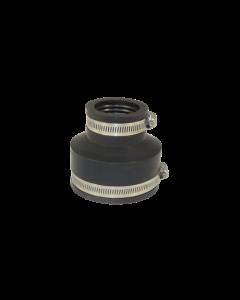 Flexibele EPDM verloopsok/mof 90x50mm