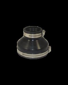 Flexibele EPDM verloopsok/mof 90x63mm