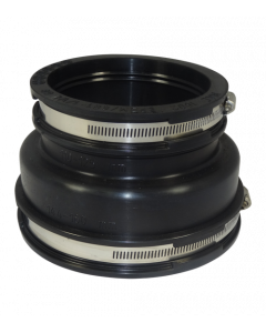 Flexibele EPDM verloopsok/mof 160x125mm