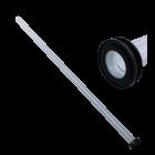 UvC Xclear Kwartsglas Ø25mm - L=390mm (Dompel UvC 40W Amalgaam)