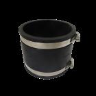 Flexibele rubber sok/mof 110mm